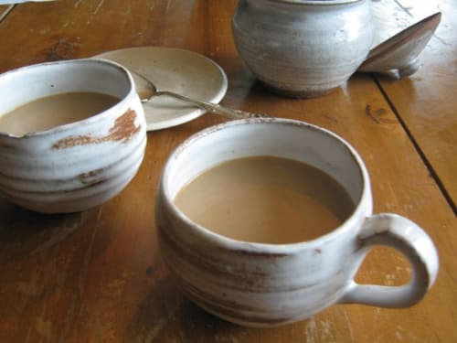 Handmade CommonwealthSan Coffee Seen At Cups Pottery By Akiko's ID9WEH2