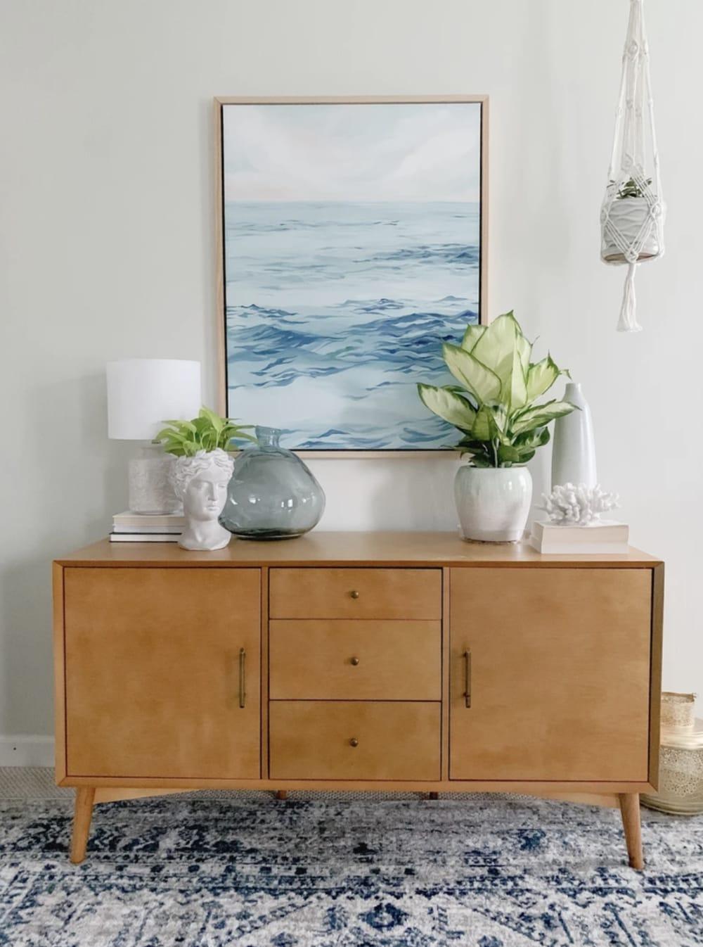 Pastel ocean painting