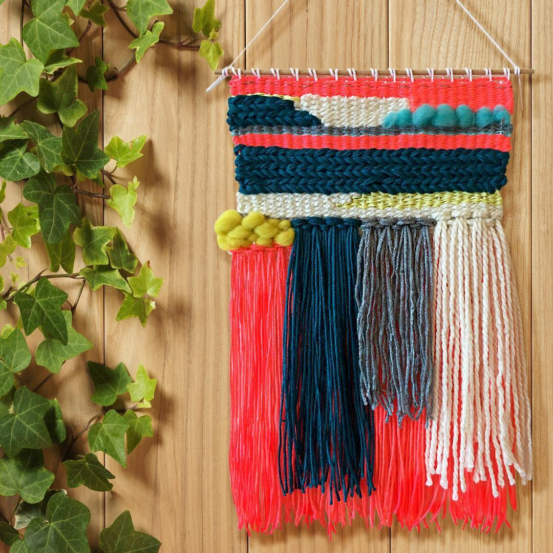 Multicolored wall hanging