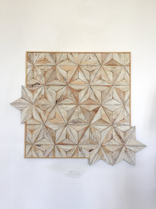 Wall Hangings by Nicole Sweeney seen at Homage SF, San Francisco - White Tile