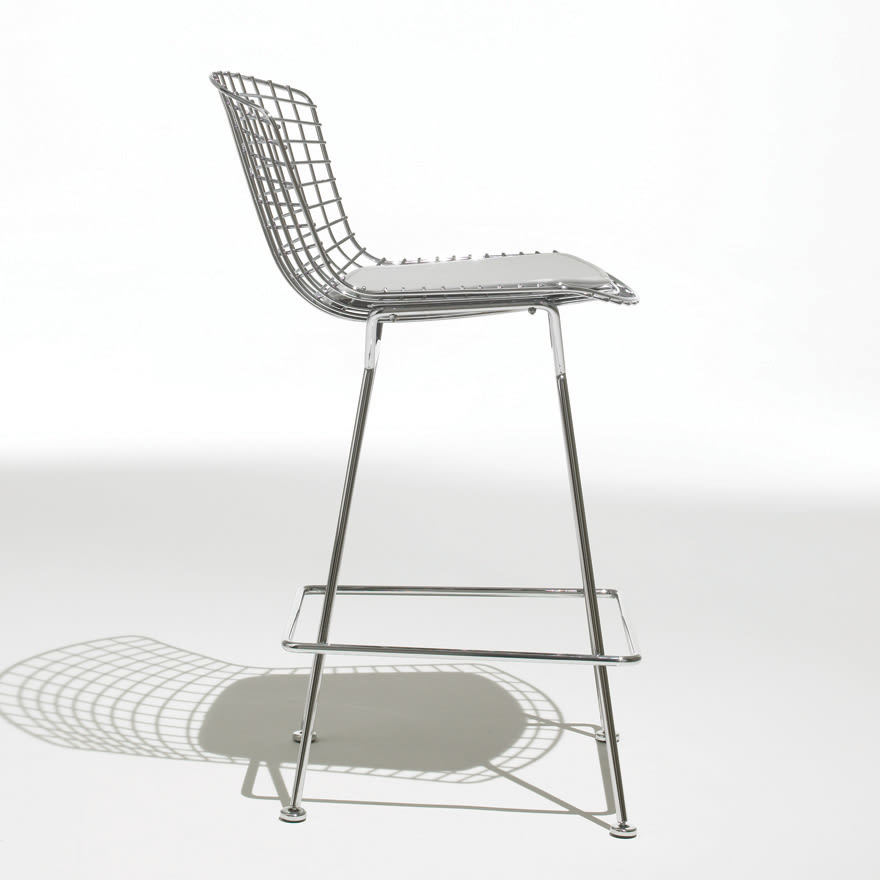 Chairs by Harry Bertoia seen at Untitled, New York - Bertoia Barstool