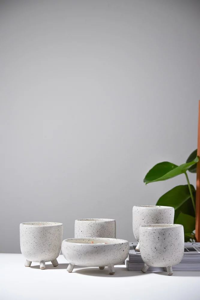 Tableware by Stone + Sparrow seen at Private Residence, Pittsburgh - Peg Leg Candles