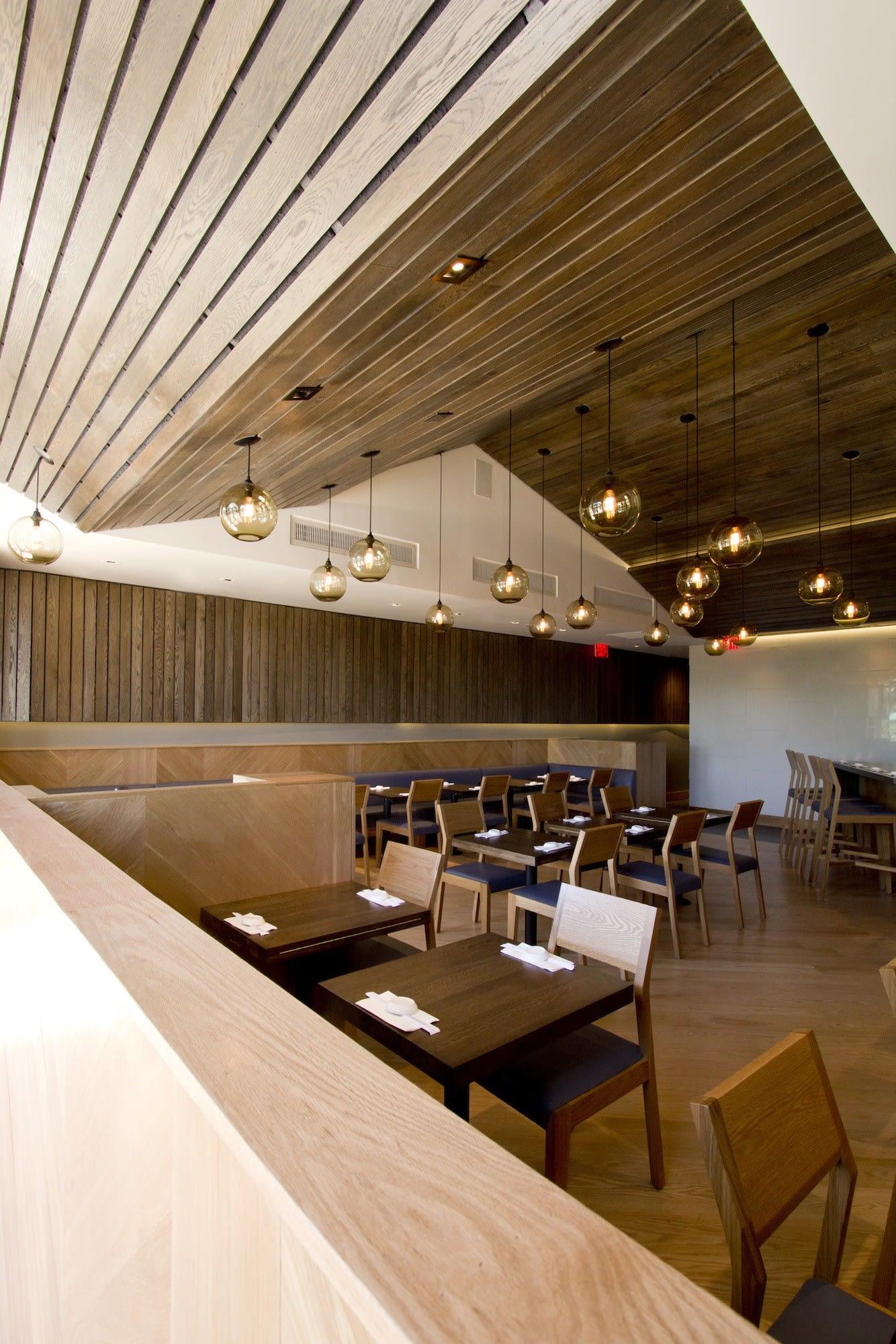 Interior Design by Studio DEX seen at SUGARFISH by sushi nozawa, Commons Way, Calabasas - Interior Design