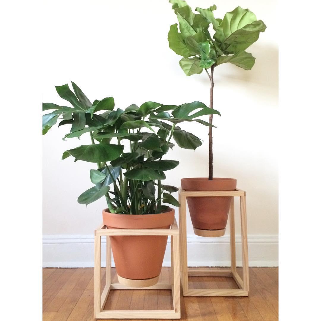 Custom woodwork planters