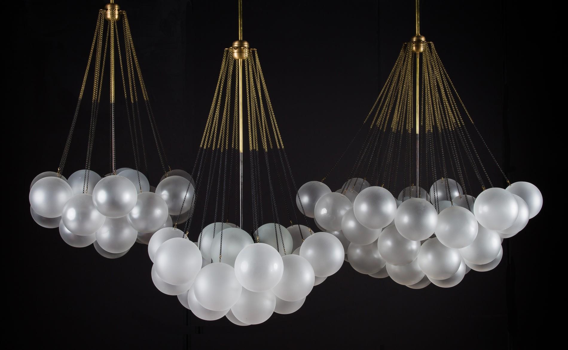 Lighting By Apparatus Studio At The Marlton Hotel New York Cloud Light Fixture