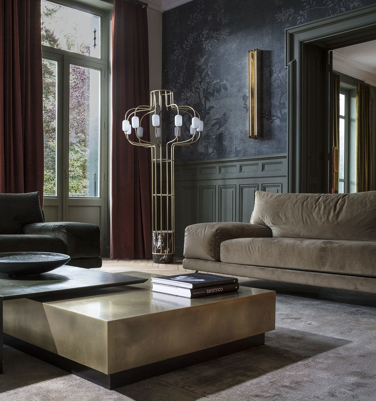 Interior Design by Claude Cartier Decoration seen at Private Residence, Lyon - Interior Design