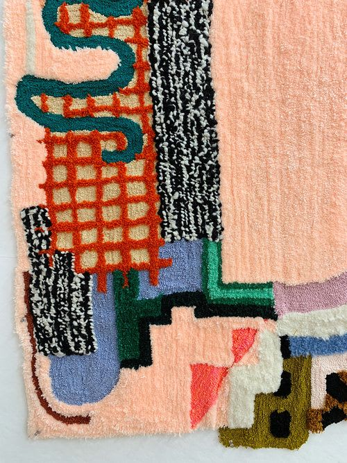 Rugs by Caroline Kaufman seen at Private Residence, Brooklyn - Rug