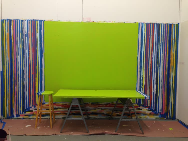 Art & Wall Decor by Leah Rosenberg at Vermont Studio Center, Johnson - Everyday A Color