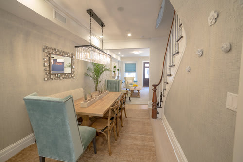 Interior Design By Marie Burgos Design At Garden Street Brownstone, Hoboken    Interior Design ...