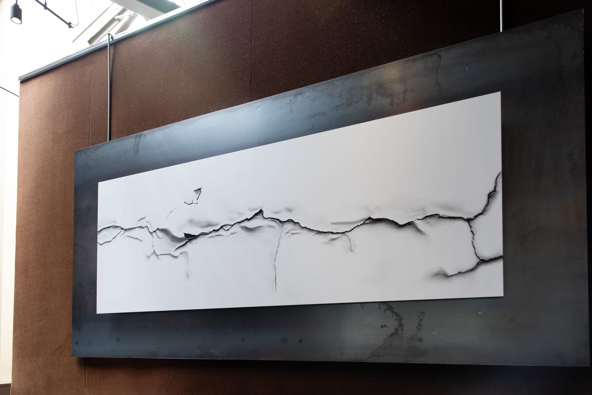 Photography by Durwood Zedd seen at Spruce, San Francisco - Crack - White