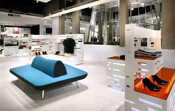 Interior Design by G4 Group at H&M, Barcelona - Architectural Design