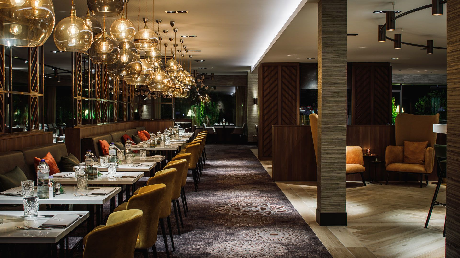 Interior Design by Hans Kuijten seen at 28 Dining, Assen - Interior Design