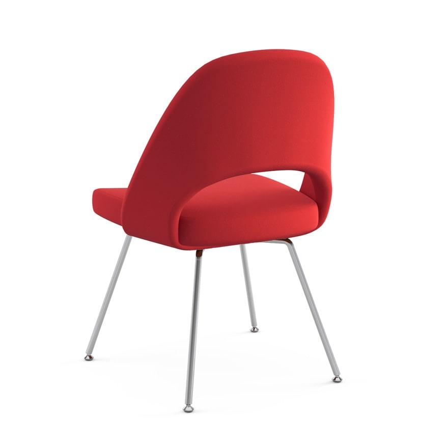 Chairs By Eero Saarinen At Untitled, New York   Red Saarinen Executive Armless  Chair
