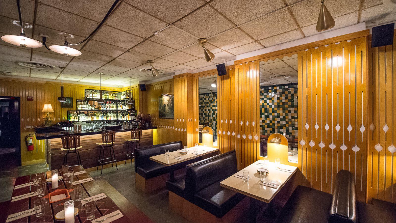 Tiles by Studio Robert McKinley seen at Tijuana Picnic, New York - Mexican-Style Tiles