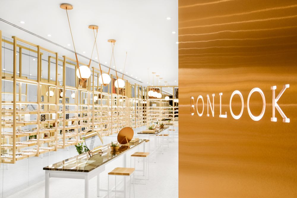 Lighting by Larose Guyon at BonLook, Montréal - Perle 1