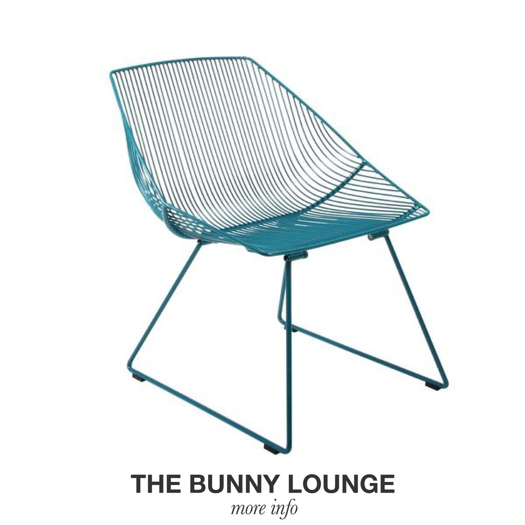 Chairs by Bend Goods seen at The William Vale, Brooklyn - The Bunny Lounge Chair