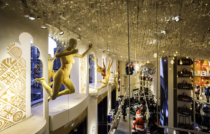 Interior Design by G4 Group seen at Desigual, Barcelona - Architectural Design