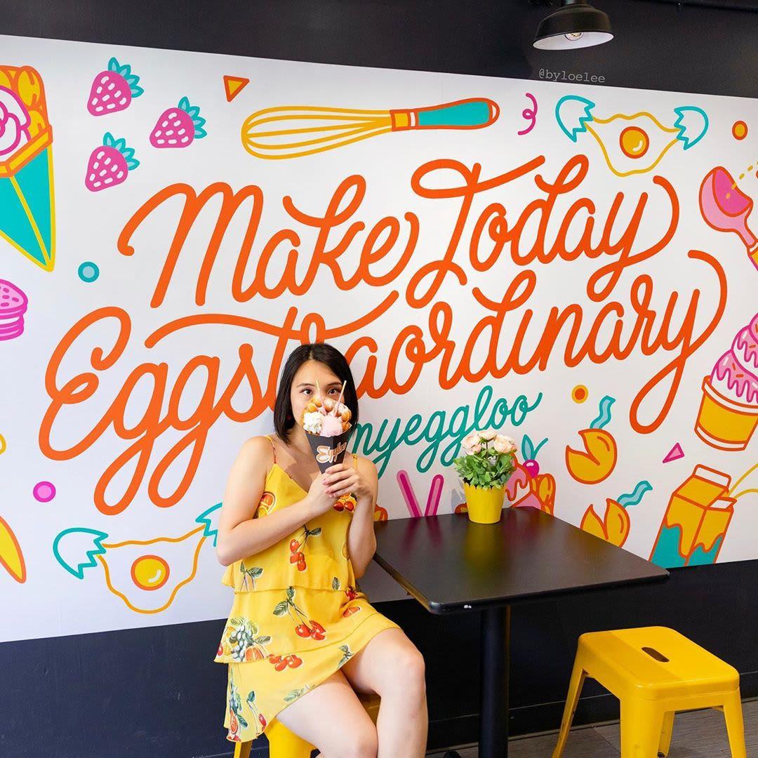 Murals by Loe Lee seen at Eggloo, New York - Mural