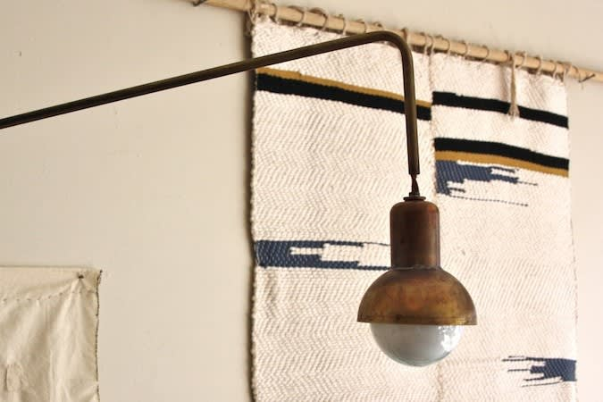Sconces by Nightwood seen at Ostrich Farm, Los Angeles - Bell Jar Sconce