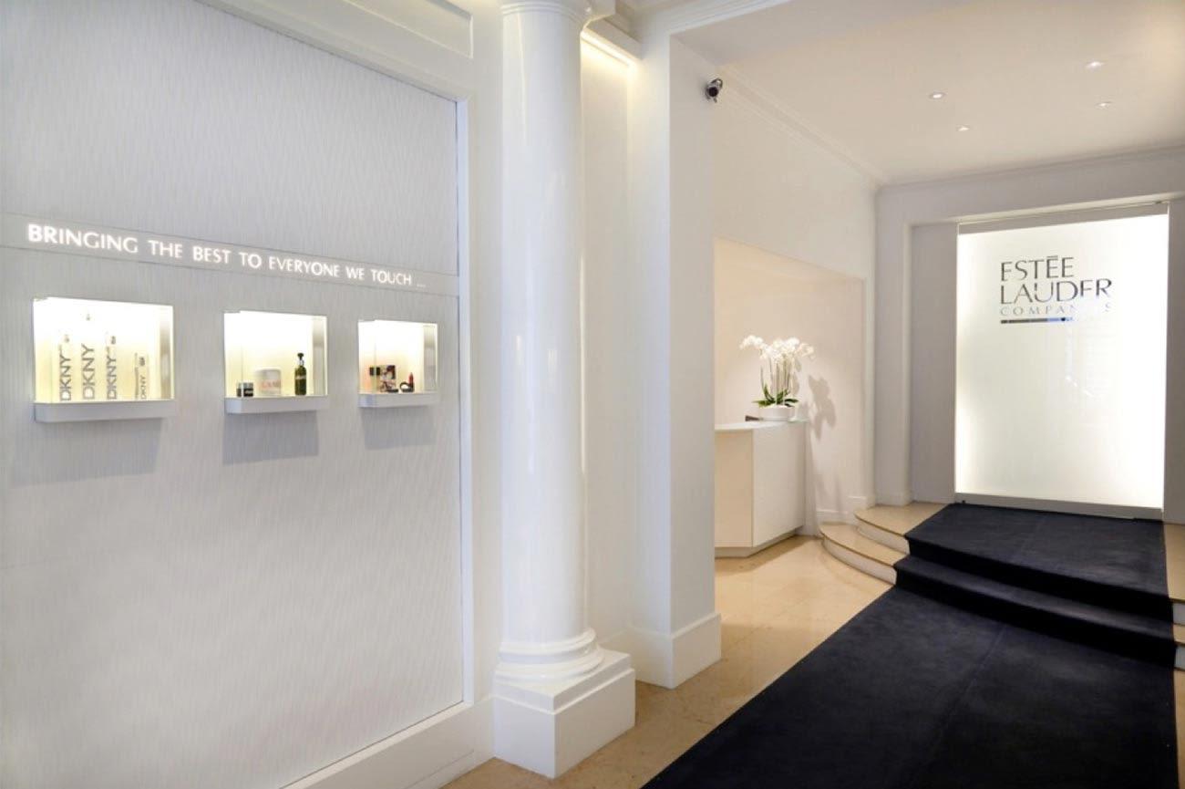 Interior Design by CvH Interiors seen at Estée Lauder, New York - Sophisticated Interior Design