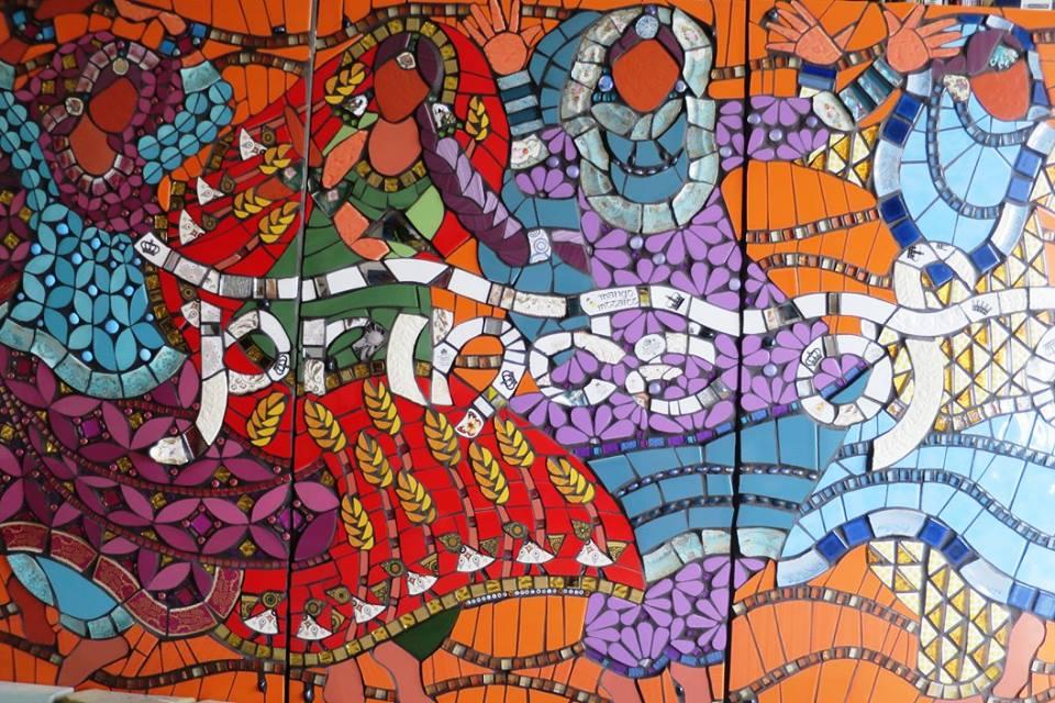 Public Mosaics by Mango Mosaics seen at Prince of Wales, West Bromwich - Prince of Wales, West Bromwich