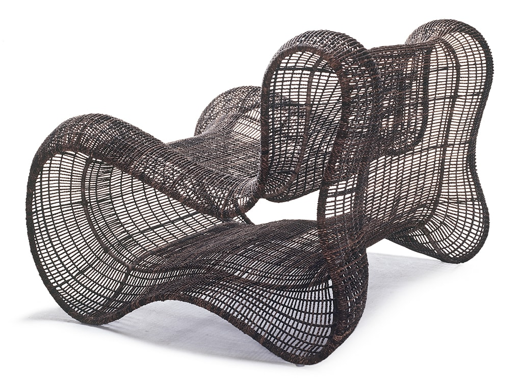 Chairs by Kenneth Cobonpue seen at Palacio Duhau - Park Hyatt Buenos Aires, Argentina, Recoleta - Pigalle Easy Armchair