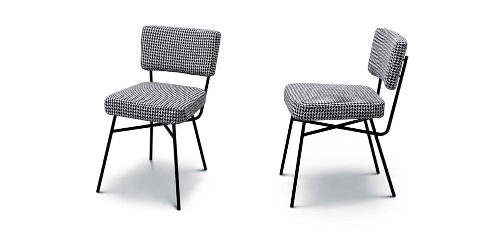 Chairs by B.B.P.R seen at Hôtel Americano, New York - Elettra Chair