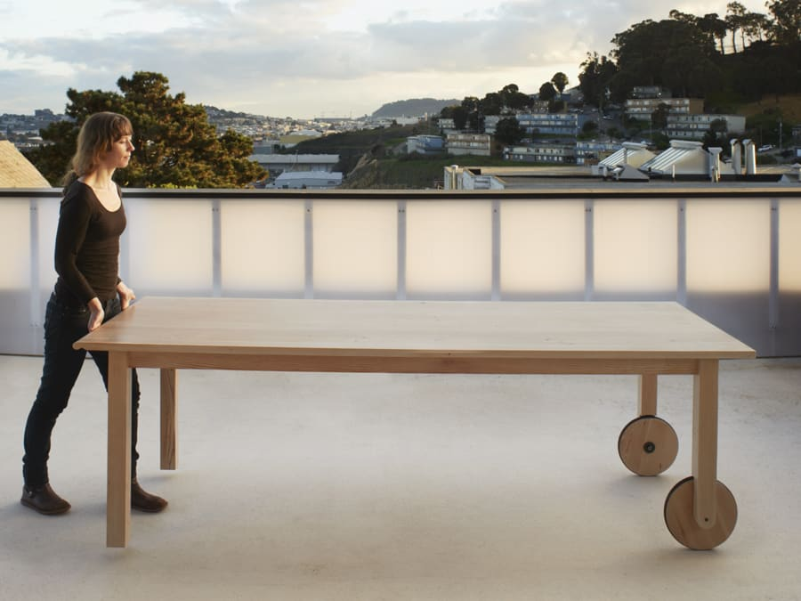 Tables by Yvonne Mouser seen at 20th St Residence, San Francisco, CA, San Francisco - Tablebarrow