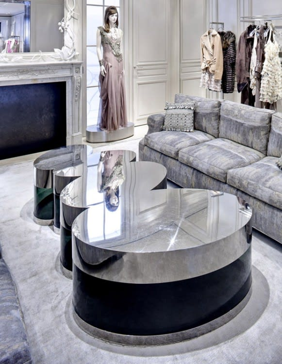 Interior Design by Peter Marino Architect seen at Dior, 57th St, New York - Interior Design
