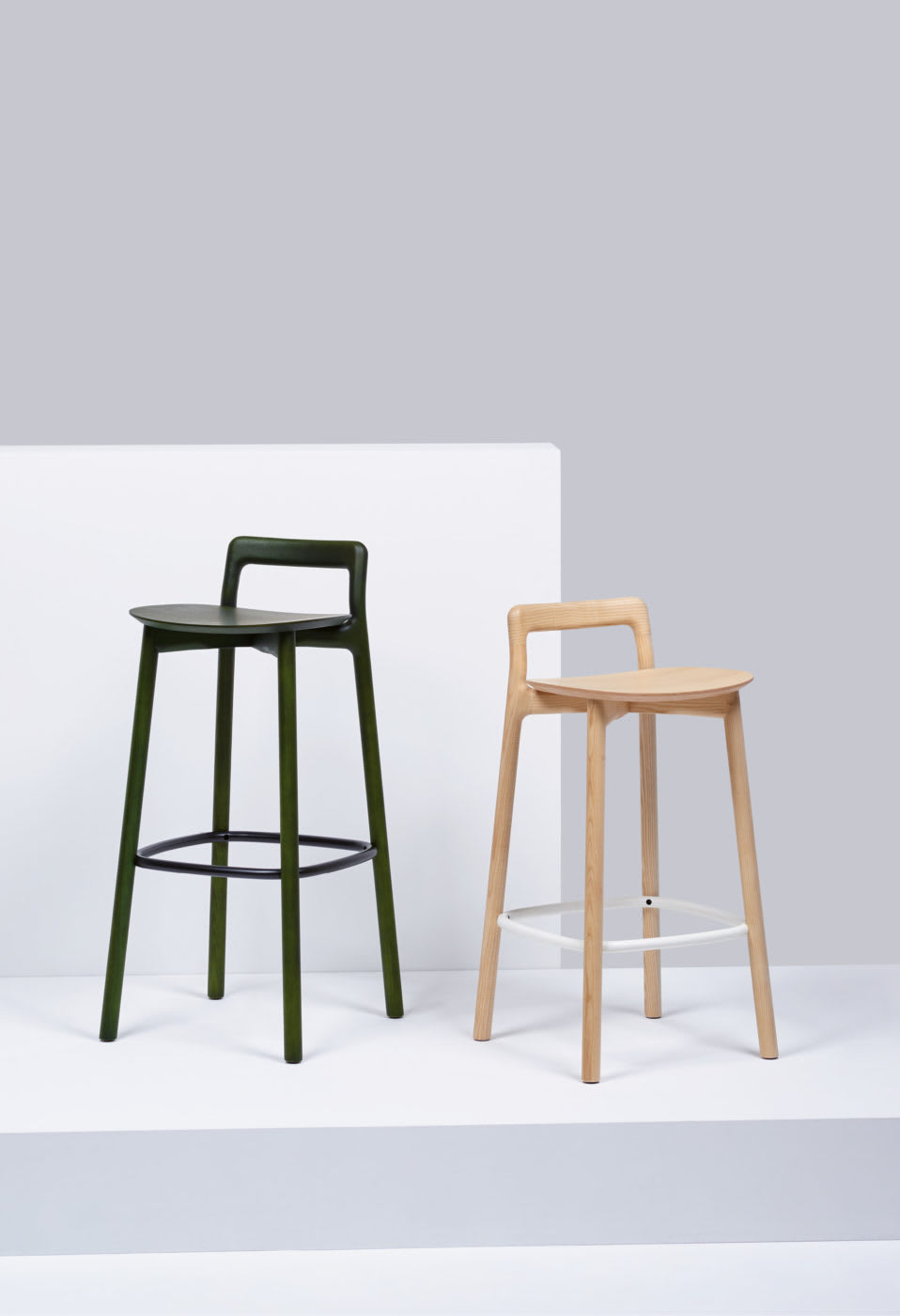 Chairs by Mattiazzi Italy seen at Rech by Alain Ducasse - Branca Stools