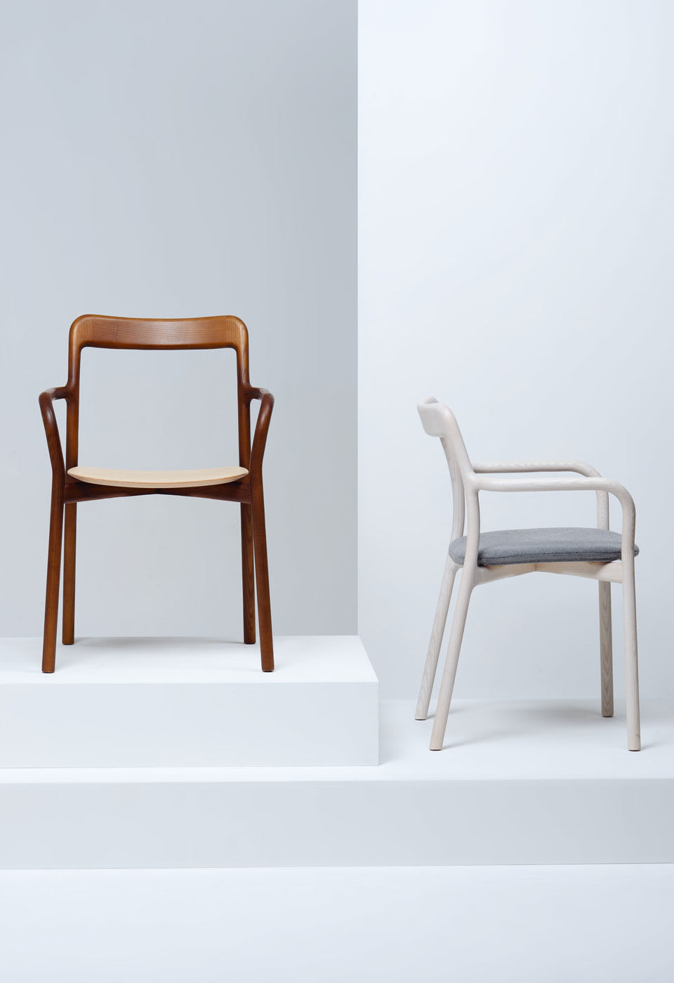 Chairs by Mattiazzi Italy seen at Rech by Alain Ducasse - Branca Chair