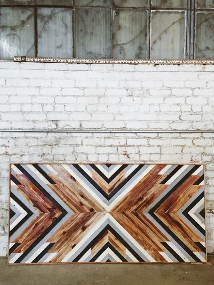Wall Hangings by Aleksandra Zee seen at The Kimpton Buchanan, San Francisco - Wooden Wall Artwork