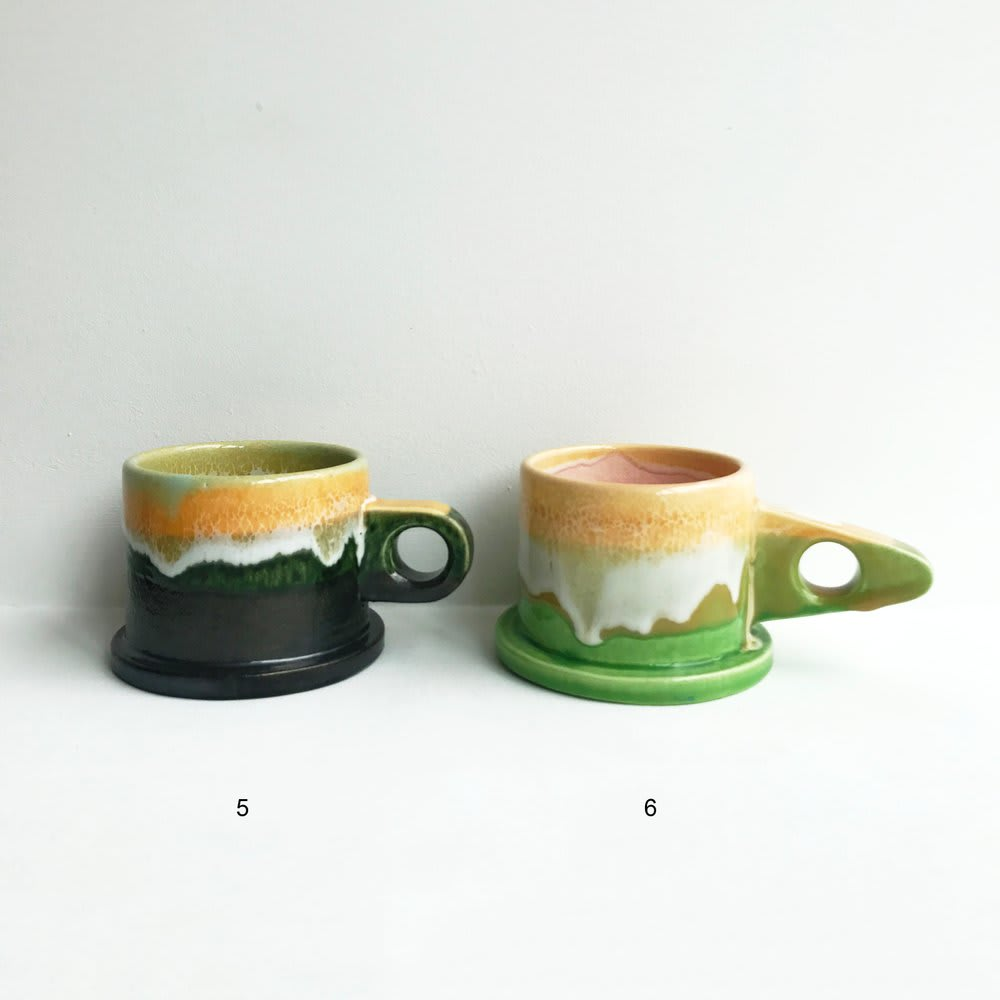 Tableware by Peter Shire seen at Cafe Henrie, New York - Ceramic Mugs