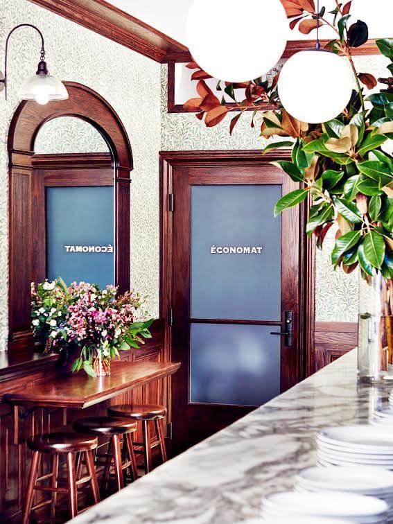 Interior Design by Estee Stanley seen at Petit Trois, Los Angeles - Interior Design