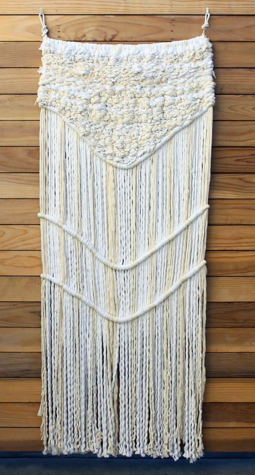 Sculptures by Tanya Aguiñiga seen at American Trade Hotel Panama, Panama City - Weavings