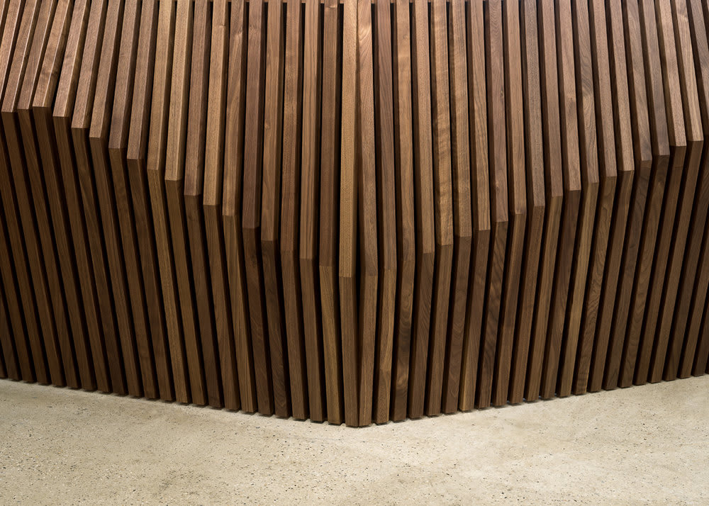 Furniture by Robert Sukrachand seen at Etsy, DUMBO, Brooklyn - Parametric Desk
