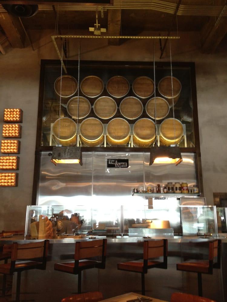 Pendants by Afterglow Studio seen at Umami Burger, Los Angeles - Bespoke Rustic Pendant Lights