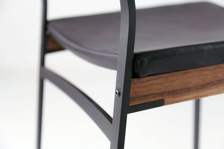 Chairs by Token seen at Pabu Boston, Boston - Catenary Bar Stools