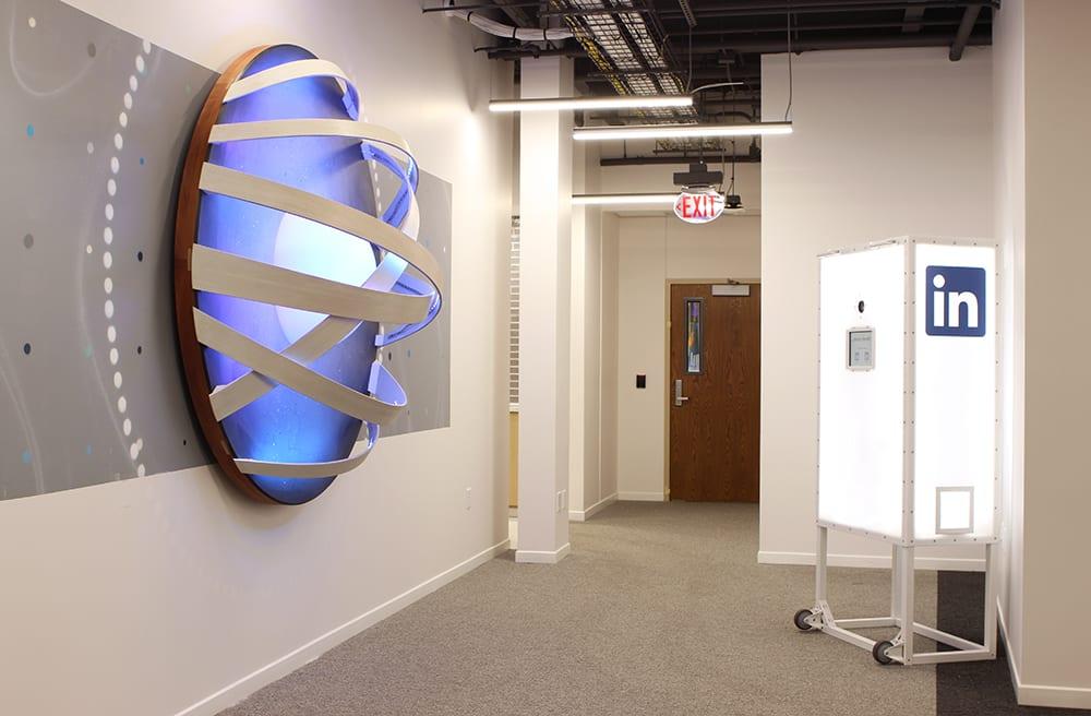 Furniture by VESL seen at LinkedIn - Omaha, Omaha - LinkedIn - Omaha Photo Booth