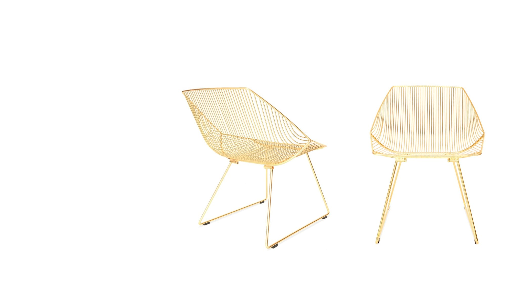 Chairs by Bend Goods at The William Vale, Brooklyn - The Bunny Lounge Chair
