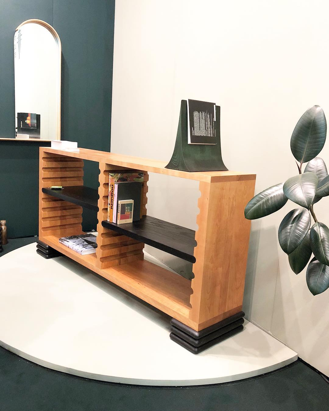 Furniture by Trey Jones Studio seen at Piers 92/94, New York - The Ridge Bookcase
