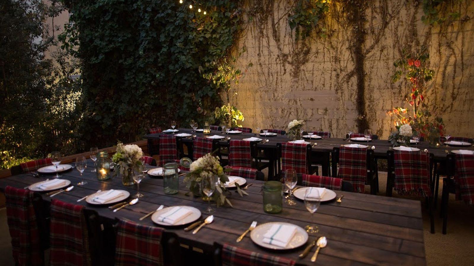 Tables by Alexis Moran seen at Del Popolo, San Francisco - Outdoor Dining Table