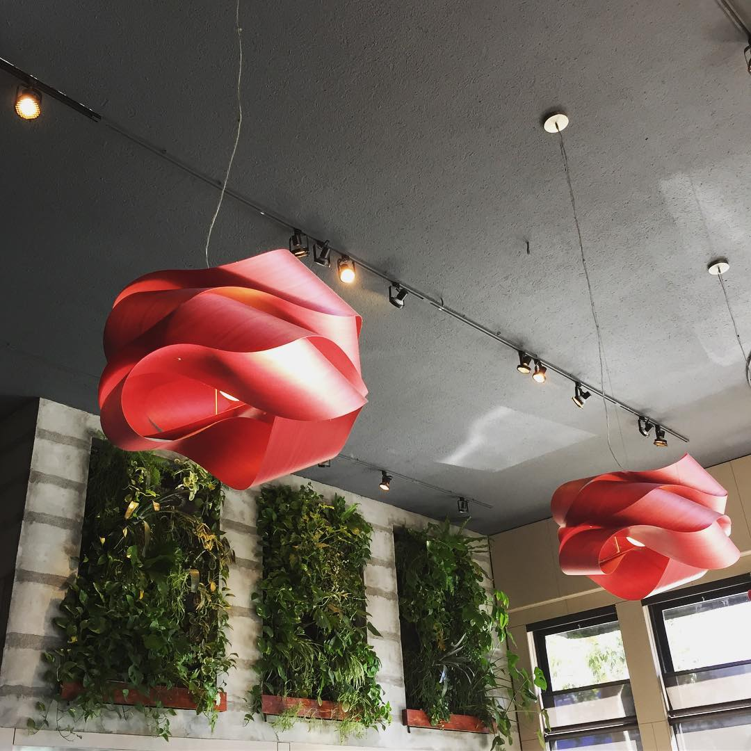 Link (Red) by LZF Lamps, Lighting at Maven, Bar