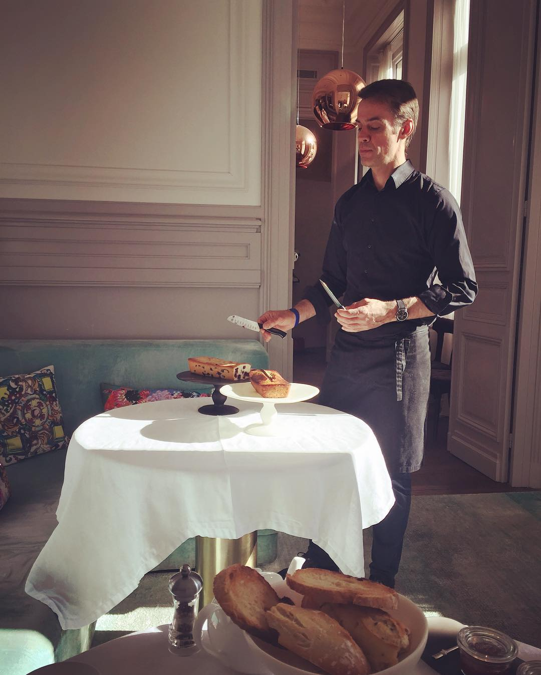 Tableware by Tina Frey at Yndo Hotel, Bordeaux - Pedestal Cake Stand