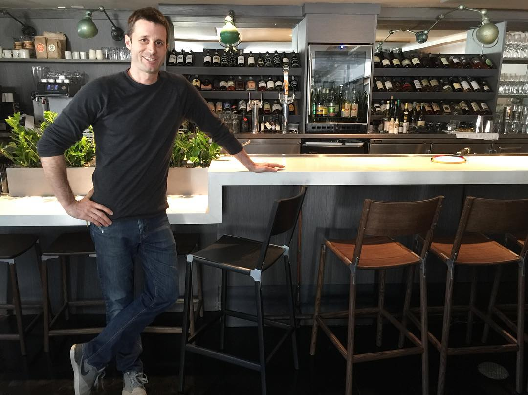 Chairs by Fyrn at The Morris Restaurant, San Francisco - Stanyan Bar Stool