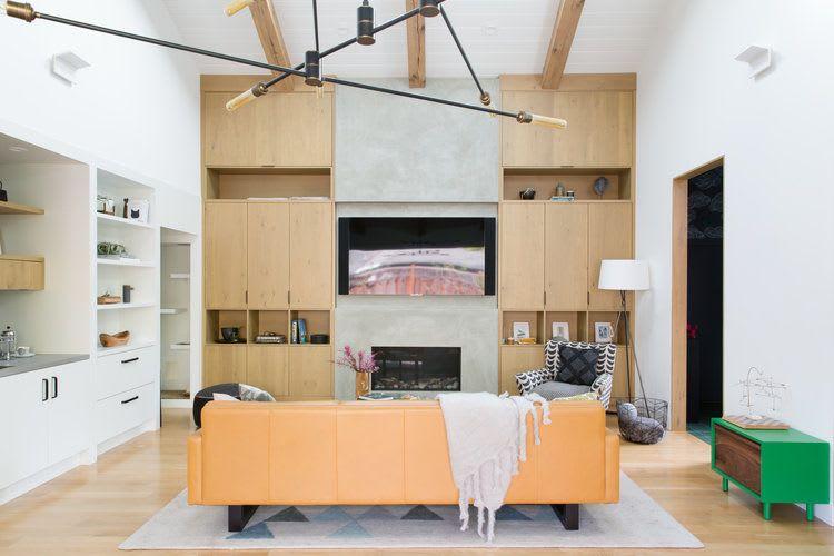 Interior Design by Regan Baker Design seen at Private Residence, Menlo Park - Interior Design