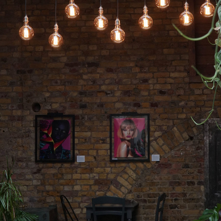Pendants by Tala seen at Hackney Coffee Company, London - Gaia