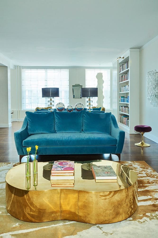 Interior Design by CvH Interiors seen at Private Residence, New York - Vintage Inspired Interior Design