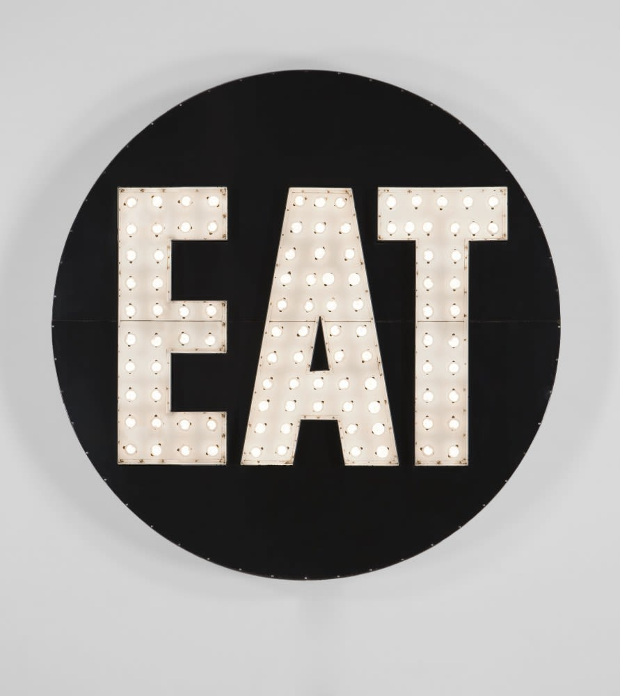 Art & Wall Decor by Robert Indiana seen at Untitled, New York - Electric Eat