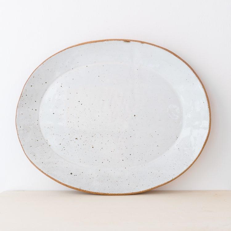Ceramic Plates by Irving Place Studio seen at Camino, Oakland - Handmade Ceramic Slab Platters